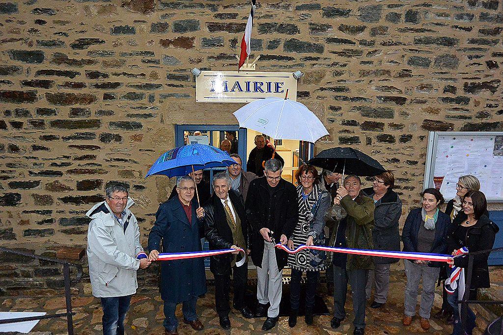 Inauguration de la nouvelle mairie de CUBIERES le 28 Novembre 2014